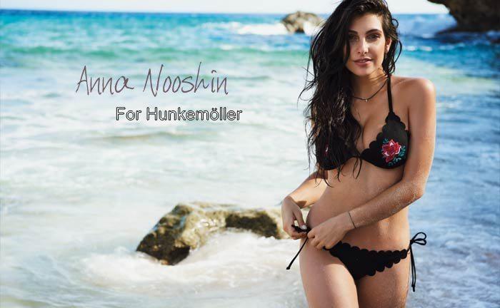 ANNA NOOSHIN X HUNKEMÖLLER
