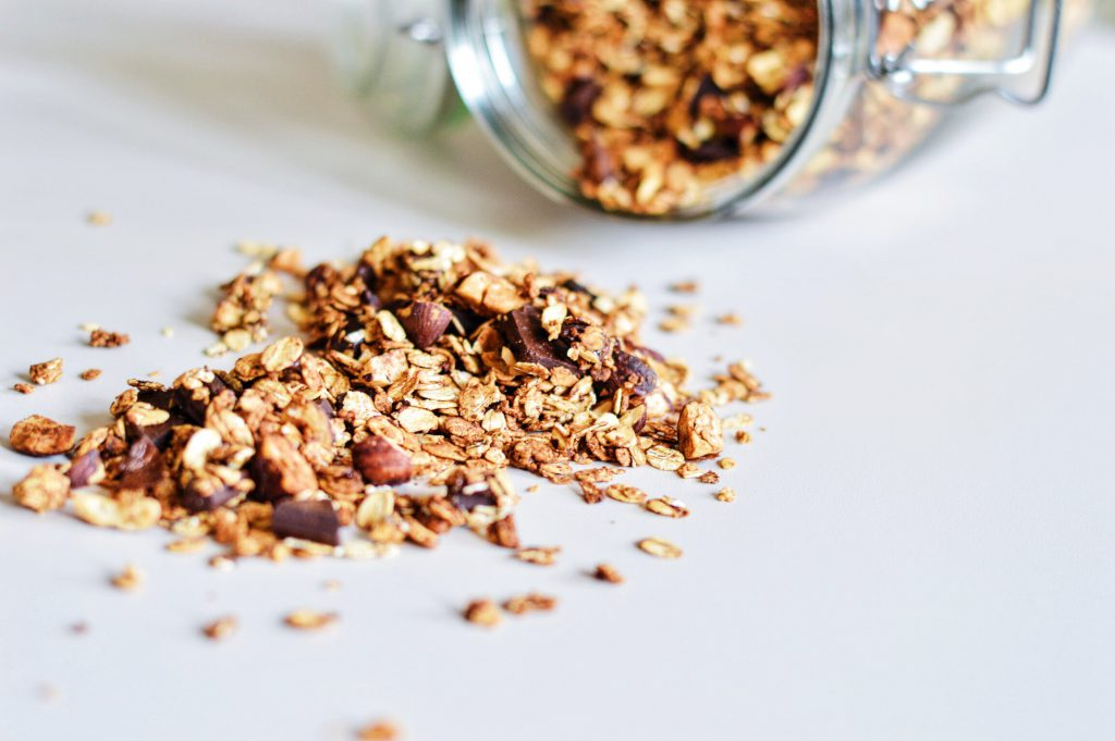 DARK CHOCOLATE HAZELNUT GRANOLA